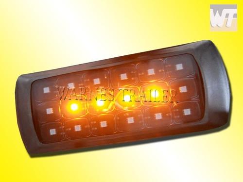 kit de luces led faros para trailer stop,giro y posicion
