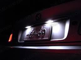 kit de luces led ford escape interior portaplacas