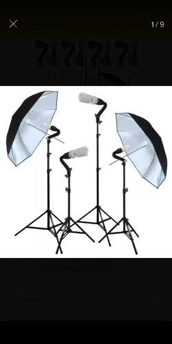 kit de luces para fotografia