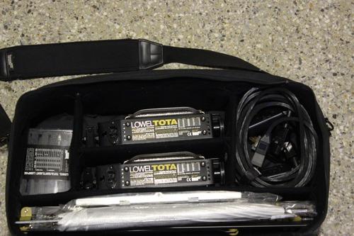kit de luces para fotografía profesional lowel #120# trumps#