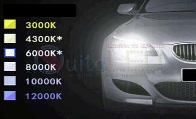 kit de luces xenon,todos los modelos, 6000k y 8000k quitoled