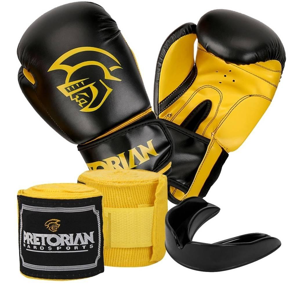 086c91563 kit de luvas de boxe muay thai kickboxing mma pretorian 14oz. Carregando  zoom.