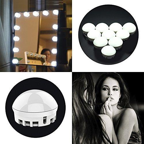 kit de luz led para espejo de tocador regulable regulable bo