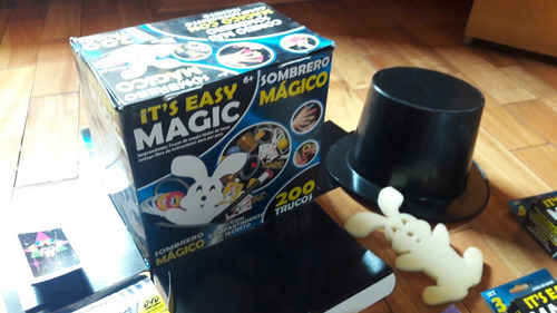 kit de magia easy-magic para niños de 6 a 12 años