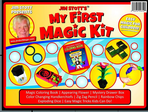 kit de magia jim stott presents 'my first magic kit'