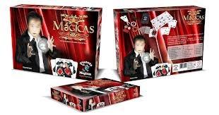 kit de magica 20 magicas - manual em dvd fácil de aprender