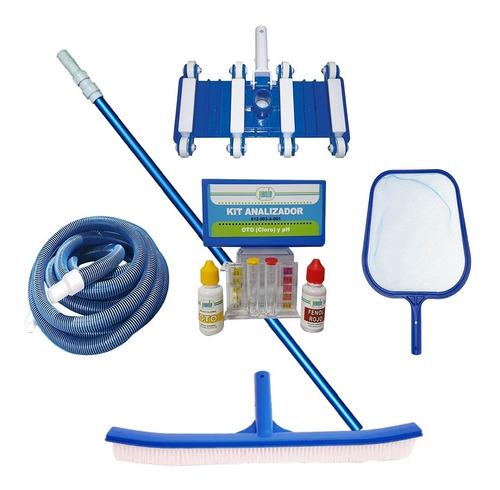 kit de mantenimiento para alberca 6pza maneral
