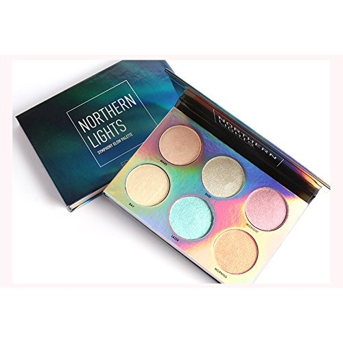 d21cdf3bf Kit De Maquillaje De 3 Colores Unicorn Luminous Shimmer Glow ...