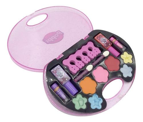 kit de maquillaje para nenas set belleza sombras y esmaltes