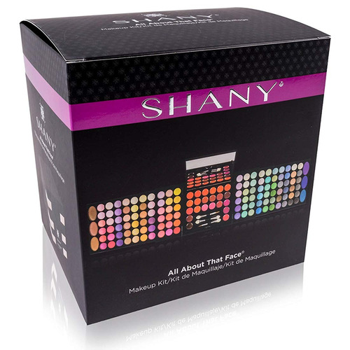 kit de maquillaje profesional 126 sombras de ojos 22 labios