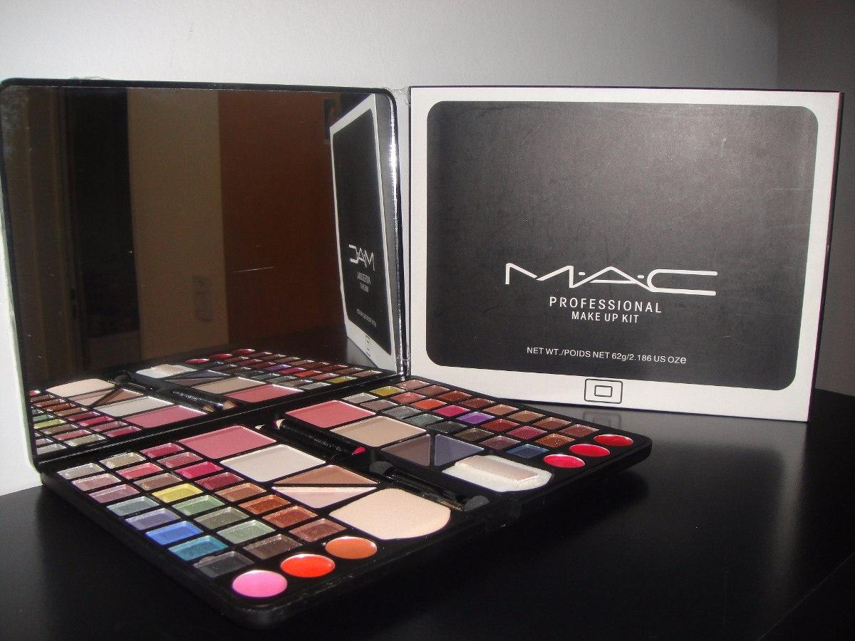 set maquillaje profesional mac