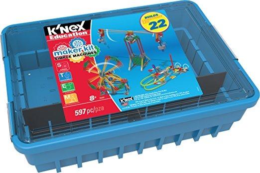 Del De K'nex Kit Simples Educación Fabricante Máquinas 0OPkwn8