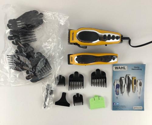 kit de maquinas wahl groom pro para pelo y barba accesorios