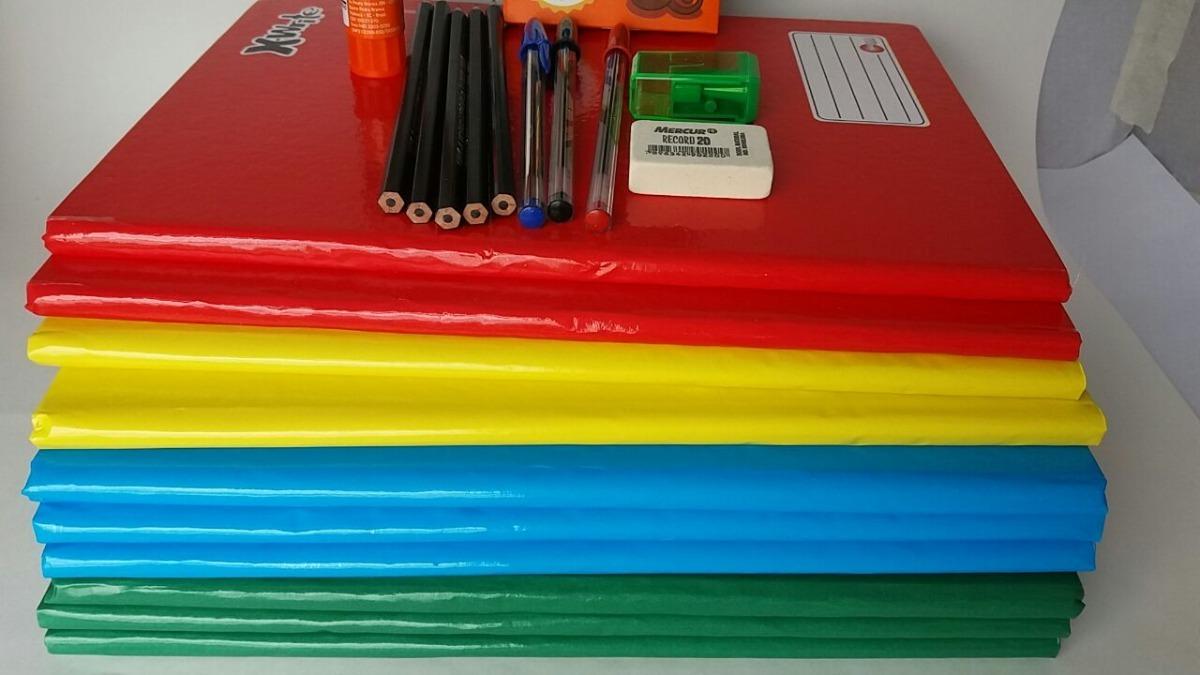 Kit De Material Escolar Barato - Lista Escolar Completa - R$ 89,00 ...