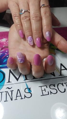 kit de materiales + curso de uñas esculpidas en acrilico