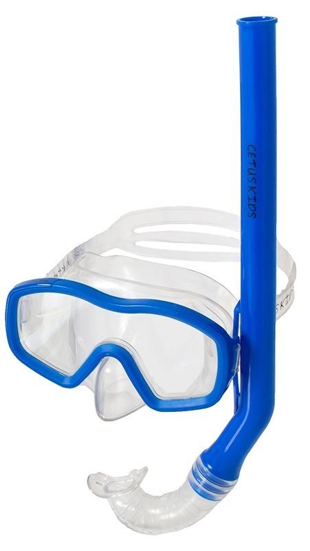 2caf22687 kit de mergulho infantil máscara e nadadeira regulavel cetus. Carregando  zoom.