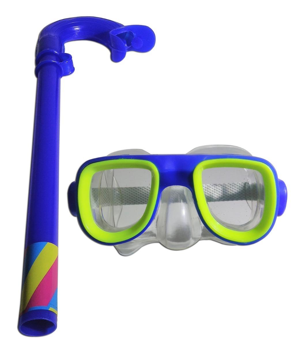 260246c8b9d3b kit de mergulho infantil óculos respirador swim feilang. Carregando zoom.