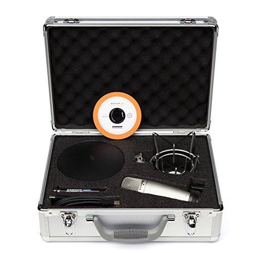 kit de microfoneo para musica podcast transmision samson