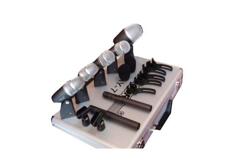 kit de micrófonos para batería profesionales