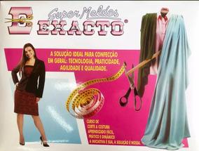 2af0f89807 Moldes Exacto Costura Feminino no Mercado Livre Brasil