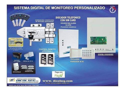kit de monitoreo, digital