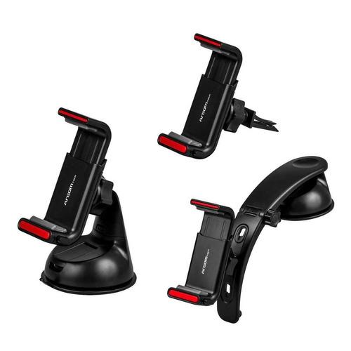 kit de montaje para celulares 3en1 p/carro icb technologies