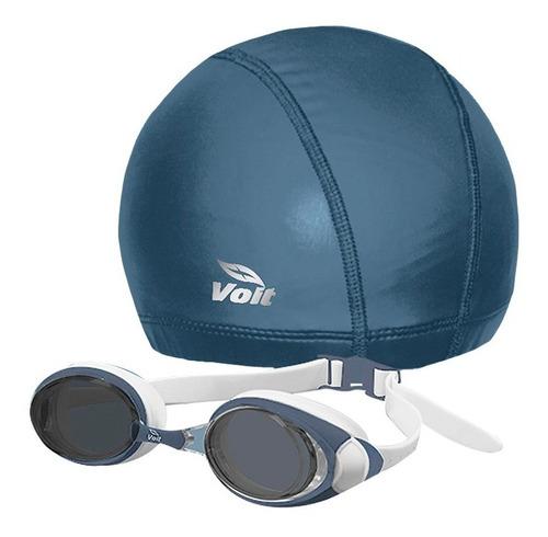 kit de natación storm unitalla unisex azul 75506 voit