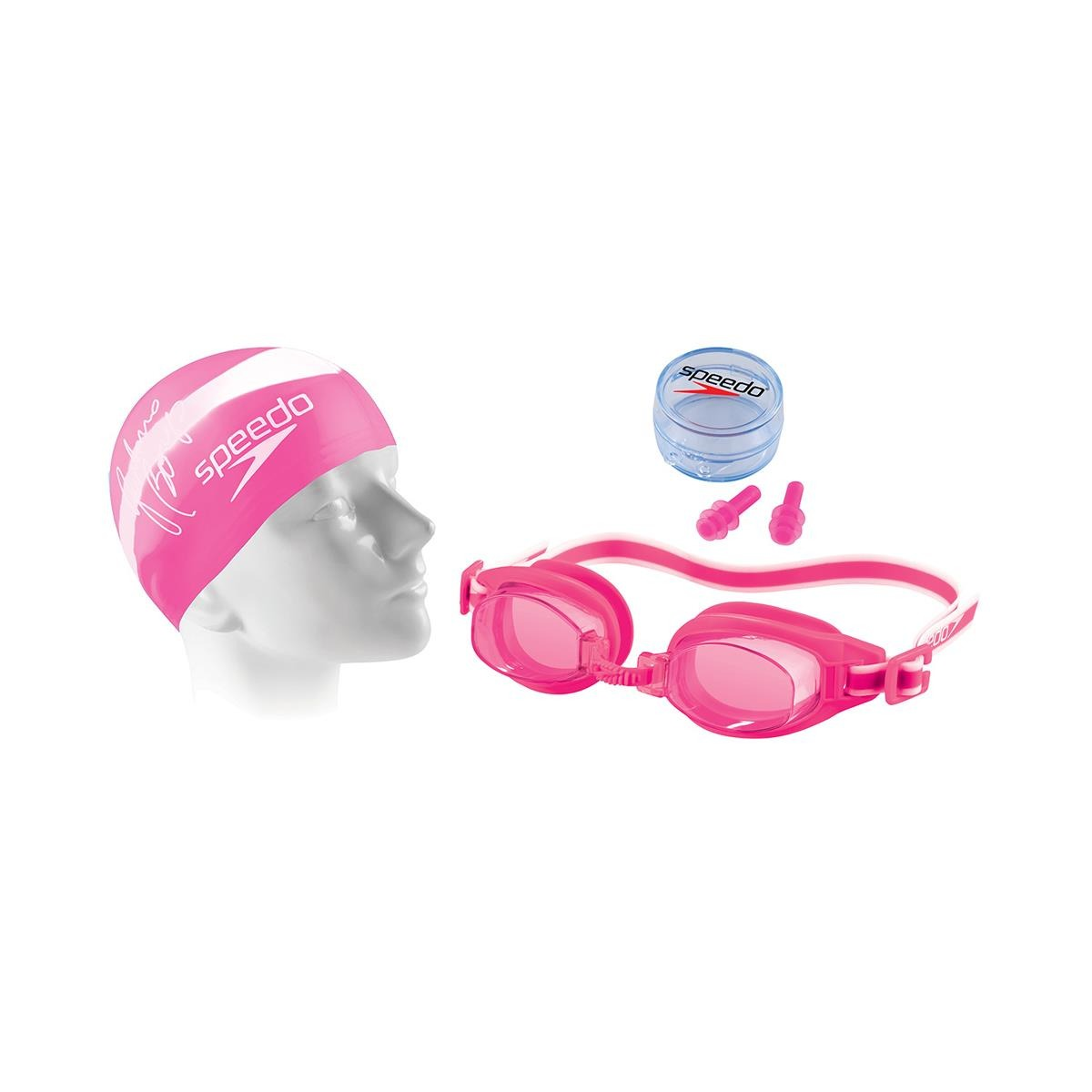 974bc8f893 kit de natação speedo swim adulto (3.0) - rosa. Carregando zoom.