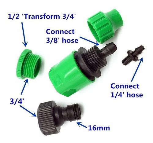 kit de nebulização com 12 bicos nebulizadores cinza