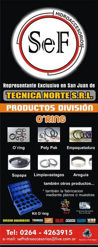 kit de o-ring standar