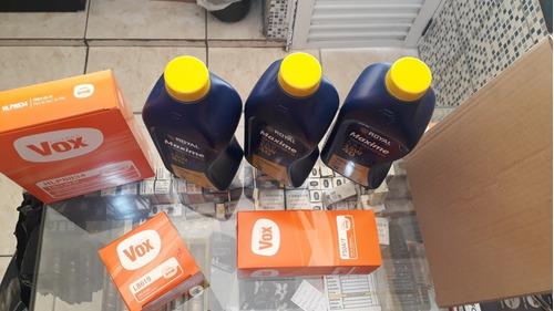 kit de óleo e filtros
