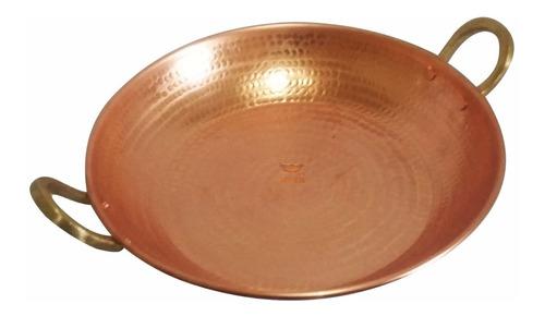 kit de paellas em cobre 5 unidades utilitário de cozinha