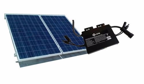 kit de paneles solares 170kwh bimestral - 2 paneles 320w