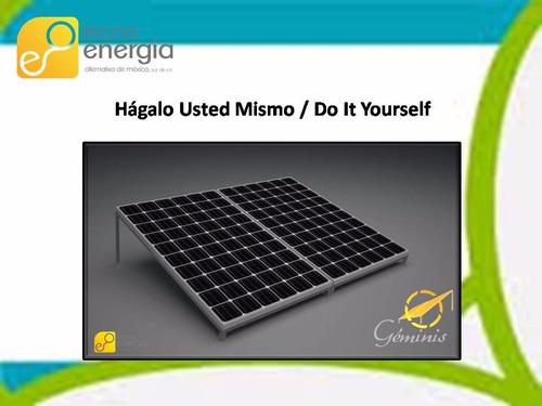 kit de paneles solares fotovoltáicos hágalo usted mismo