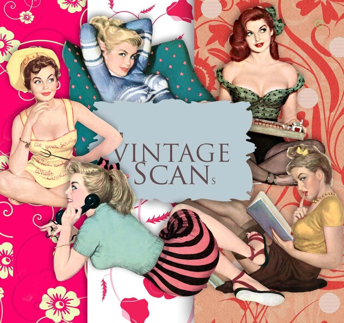 Adult retro vintage