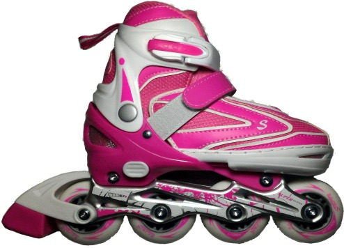 kit de patines chasis en aluminio llantas en goma proteccion