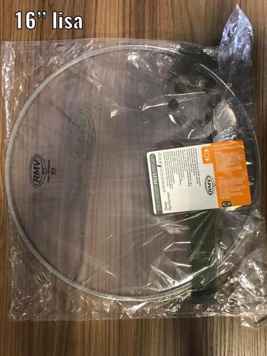 kit de pele para bateria rmv duo clear 22/16/14/14/12/10/8