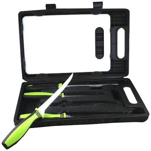 kit de pesca sarge cuchillos sk-130 con 7-1 / 2 pulgadas co