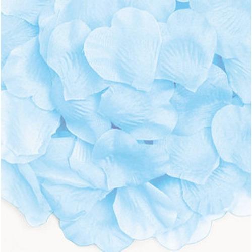 kit de pétalas artificiais azul bebê - 1000 pétalas