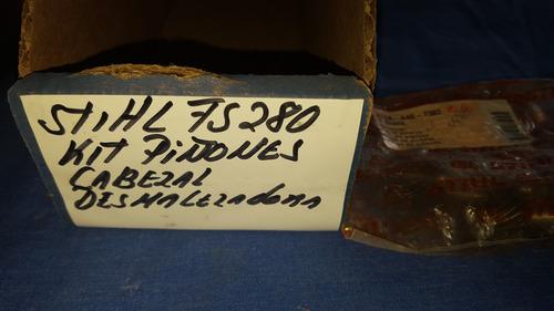 kit de piñones cabezal desmalezadora sthil fs 280