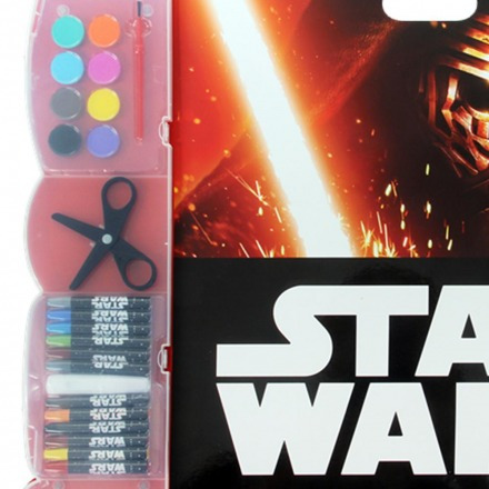 kit de pintura infantil star wars br475 - multikids