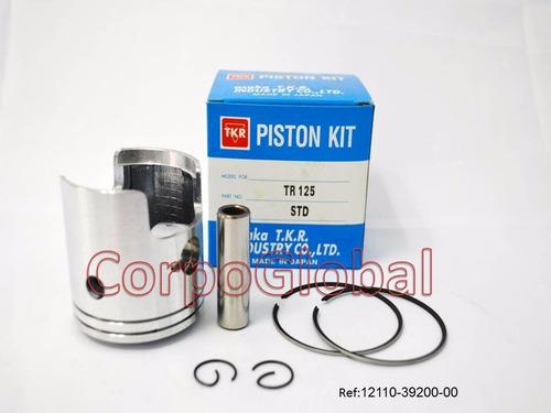 kit de piston suzuki tr125 w/ring std