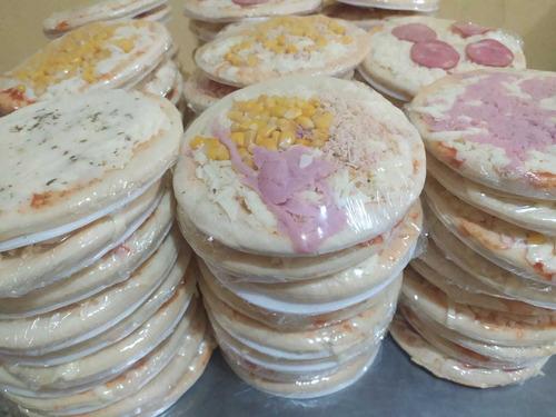 kit de pizzas brotinho com 10 unidades