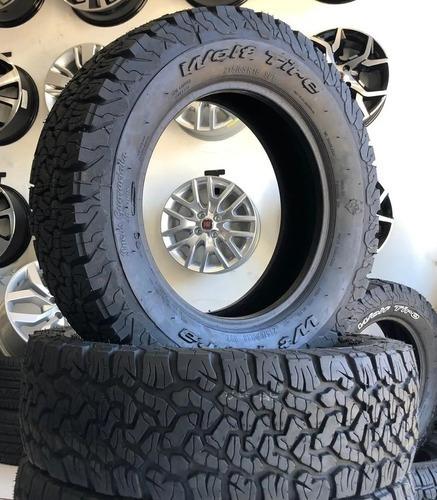 kit de pneus 205/60r15 remold bf goodrich wt terra