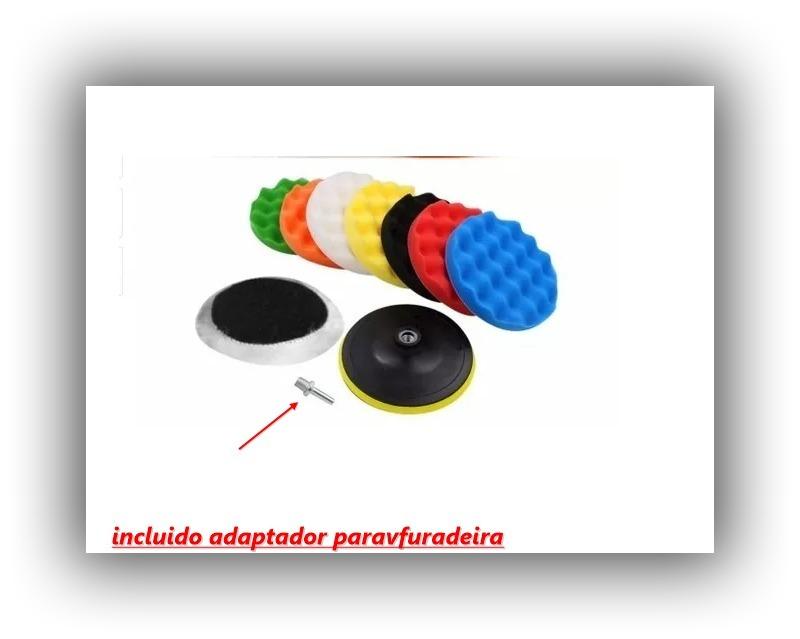 kit de polimento - boinas de espumas e lã 5 pol. 10 pçs. Carregando zoom. 3a3a4a863b1