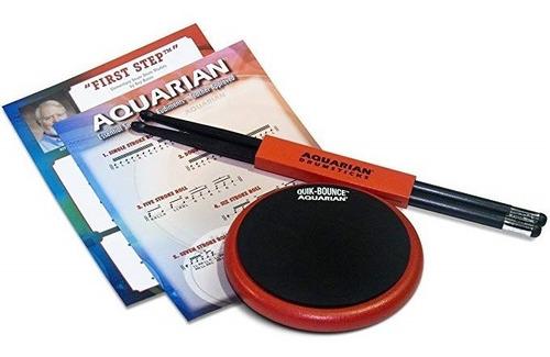 kit de practica aquarian qbp6 pad y baqueta de grafito