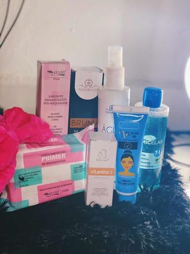 kit de produtos para skin care