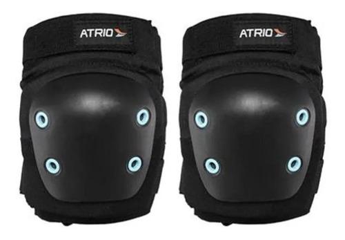kit de proteção bike infantil atrio es183 com capacete azul