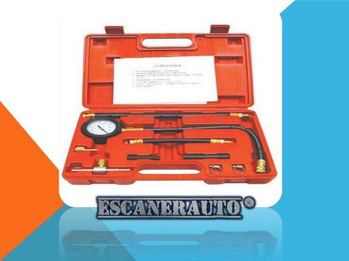 kit de prueba de presión de inyección de combustible manómet