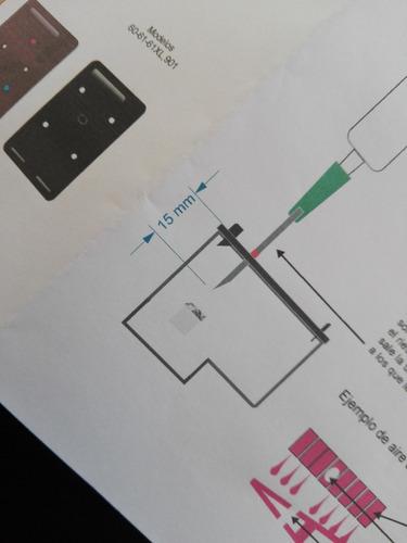 kit de recarga + clip purga y limpiador para cartuchos hp 60